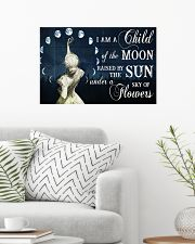 I AM A CHILD OF THE MOON 24x16 Poster poster-landscape-24x16-lifestyle-01
