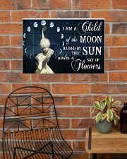 I AM A CHILD OF THE MOON 24x16 Poster poster-landscape-24x16-lifestyle-24