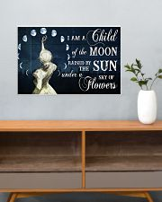 I AM A CHILD OF THE MOON 24x16 Poster poster-landscape-24x16-lifestyle-25