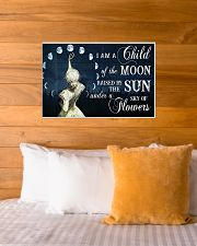 I AM A CHILD OF THE MOON 24x16 Poster poster-landscape-24x16-lifestyle-27