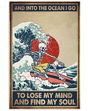 INTO THE OCEAN I GO TO LOSE MY MIND 11x17 Poster front