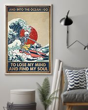 INTO THE OCEAN I GO TO LOSE MY MIND 11x17 Poster lifestyle-poster-1