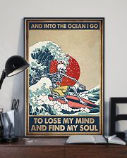 INTO THE OCEAN I GO TO LOSE MY MIND 11x17 Poster lifestyle-poster-2