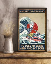 INTO THE OCEAN I GO TO LOSE MY MIND 11x17 Poster lifestyle-poster-3