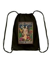 STAY TRIPPY LITTLE HIPPIE Drawstring Bag tile