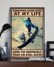 SOMETIME I LOOK BACK AT MY LIFE  11x17 Poster lifestyle-poster-2