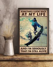 SOMETIME I LOOK BACK AT MY LIFE  11x17 Poster lifestyle-poster-3