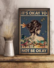 IT'S OKAY TO NOT BE OKAY 11x17 Poster lifestyle-poster-3