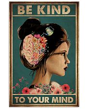 BE KIND TO YOUR MIND 11x17 Poster front