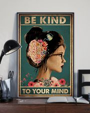 BE KIND TO YOUR MIND 11x17 Poster lifestyle-poster-2