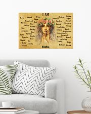HIPPIE - I AM  - CUSTOM NAME 24x16 Poster poster-landscape-24x16-lifestyle-01