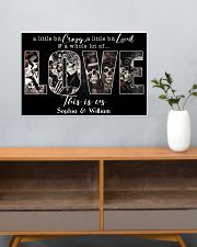 THIS IS US - CUSTOM NAME 24x16 Poster poster-landscape-24x16-lifestyle-25