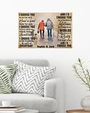 FAMILY - I CHOOSE YOU  - CUSTOM NAME 24x16 Poster poster-landscape-24x16-lifestyle-01