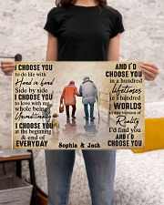FAMILY - I CHOOSE YOU  - CUSTOM NAME 24x16 Poster poster-landscape-24x16-lifestyle-20