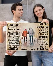 FAMILY - I CHOOSE YOU  - CUSTOM NAME 24x16 Poster poster-landscape-24x16-lifestyle-21