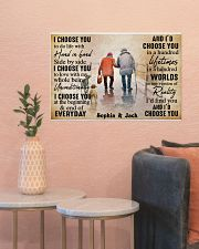 FAMILY - I CHOOSE YOU  - CUSTOM NAME 24x16 Poster poster-landscape-24x16-lifestyle-22