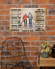 FAMILY - I CHOOSE YOU  - CUSTOM NAME 24x16 Poster poster-landscape-24x16-lifestyle-24