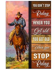 YOU DON'T STOP RIDING 11x17 Poster front