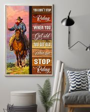 YOU DON'T STOP RIDING 11x17 Poster lifestyle-poster-1