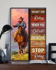 YOU DON'T STOP RIDING 11x17 Poster lifestyle-poster-2