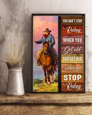 YOU DON'T STOP RIDING 11x17 Poster lifestyle-poster-3