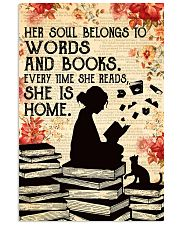 HER SOUL BELONGS TO WORDS 11x17 Poster front