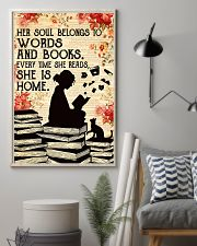 HER SOUL BELONGS TO WORDS 11x17 Poster lifestyle-poster-1
