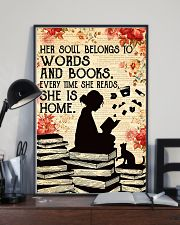 HER SOUL BELONGS TO WORDS 11x17 Poster lifestyle-poster-2