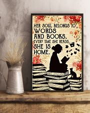 HER SOUL BELONGS TO WORDS 11x17 Poster lifestyle-poster-3