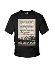 JUST REMEMBER THE RIDE GO ON Youth T-Shirt tile