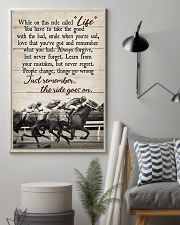 JUST REMEMBER THE RIDE GO ON 11x17 Poster lifestyle-poster-1