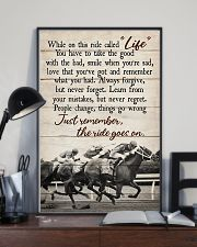 JUST REMEMBER THE RIDE GO ON 11x17 Poster lifestyle-poster-2