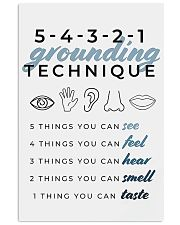 GROUNDING TECHNIQUE 11x17 Poster front