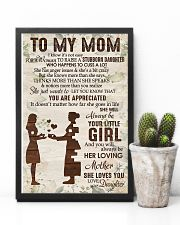 TO MY MOM 11x17 Poster lifestyle-poster-8