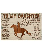 TO MY DAUGHTER 24x16 Poster front