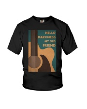 HELLO DARKNESS MY OLD FRIEND Youth T-Shirt tile
