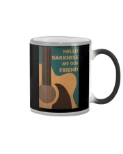 HELLO DARKNESS MY OLD FRIEND Color Changing Mug tile