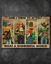AND I THINK TO MYSELF WHAT A WONDERFUL WORLD 17x11 Poster poster-landscape-17x11-lifestyle-12