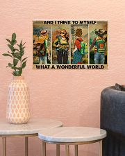 AND I THINK TO MYSELF WHAT A WONDERFUL WORLD 17x11 Poster poster-landscape-17x11-lifestyle-21