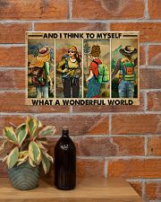 AND I THINK TO MYSELF WHAT A WONDERFUL WORLD 17x11 Poster poster-landscape-17x11-lifestyle-23