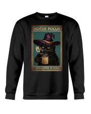 HOCUS POCUS I NEED COFFEE TO FOCUS Crewneck Sweatshirt tile