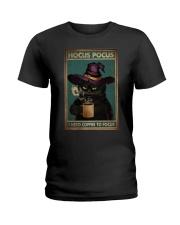 HOCUS POCUS I NEED COFFEE TO FOCUS Ladies T-Shirt tile