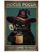 HOCUS POCUS I NEED COFFEE TO FOCUS 11x17 Poster front