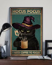 HOCUS POCUS I NEED COFFEE TO FOCUS 11x17 Poster lifestyle-poster-2
