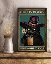 HOCUS POCUS I NEED COFFEE TO FOCUS 11x17 Poster lifestyle-poster-3