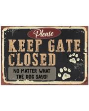 """DOG - DOORMAT Doormat 34"""" x 23"""" front"""