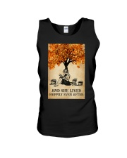AND SHE LIVED HAPPILY EVER AFTER Unisex Tank tile