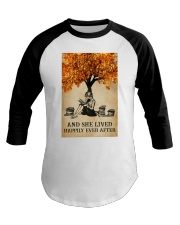 AND SHE LIVED HAPPILY EVER AFTER Baseball Tee tile
