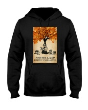 AND SHE LIVED HAPPILY EVER AFTER Hooded Sweatshirt tile