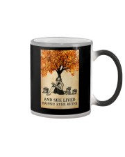 AND SHE LIVED HAPPILY EVER AFTER Color Changing Mug tile